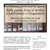 Libri per la città. L'inaugurazione a Riva del Garda